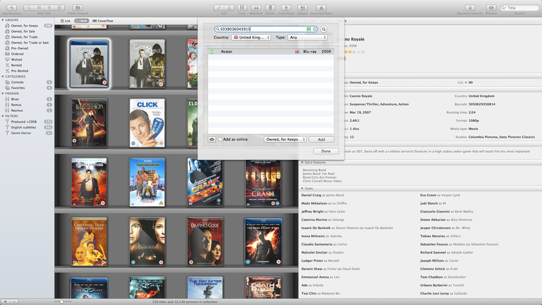 Missing iTunes Movies, Missing Information
