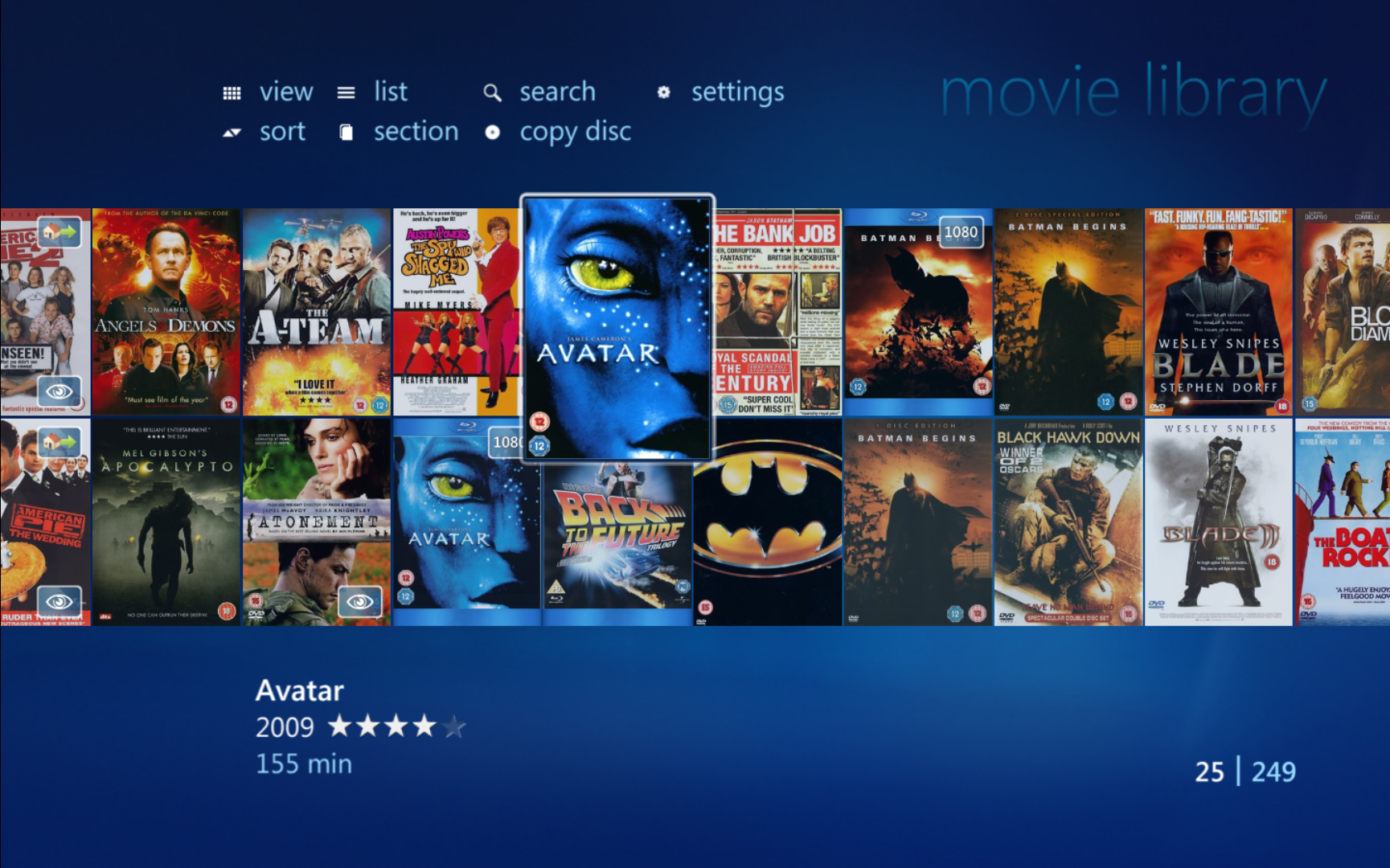 my movies collection management